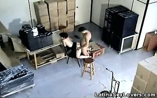 latin chick opens wide for a priceless fuck