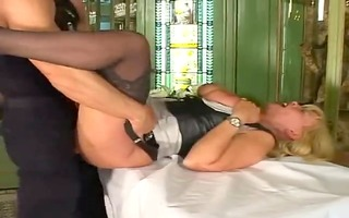 sexy german older having sex with younger female