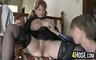 aged woman pounded in the ass