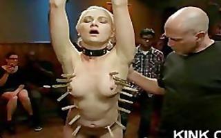 hawt gorgeous babe punished and fucked