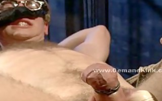 office guy fastened and used as sex serf by