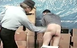 a thief acquires spanked by dad officer