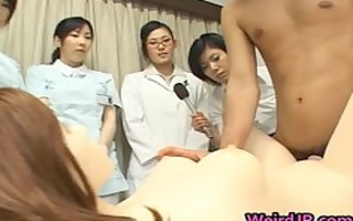 oriental female hospital workers part7