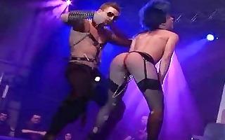 porn on stage hard fetish sex