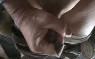 tugjob and ejaculation in slow motion