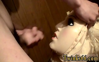 twink clip of a doll to piddle all over