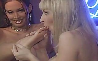 breasty lesbo angels having hot foot fetish