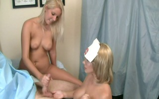 nurse handjob: patient can receive an erection