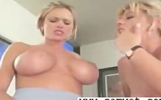 blond lesbo doxies love tunnel sex tool